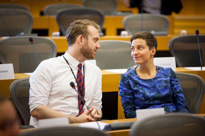 Jakop Dalunde i konversation i Europaparlamentet 2