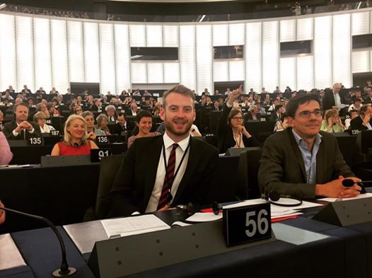 Jakop i Europaparlamentet